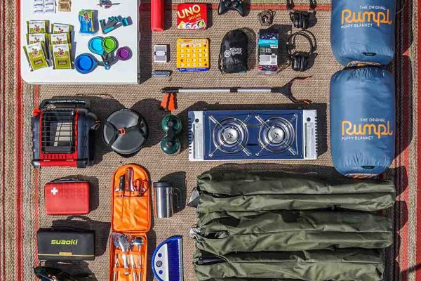 Camping Supplies Included